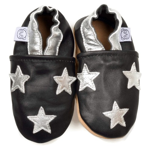 black-star-shoes